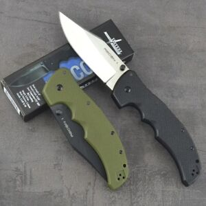 Cold Steel Mini RECON 1 Folding Knife Steel Blade Tactical Survival G10 Handle