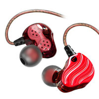 Mini Dual Driver Headphone HIFI In-Ear Earphone Super Bass Stereo Headset Earbud