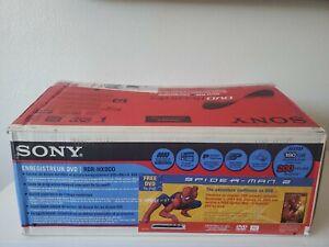 Sony DVD Recorder RDR-HX900 w/ REMOTE! 160GB Hard Disc Drive HDD In Box!!