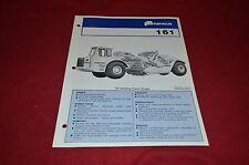 Fiat Allis Chalmers 161 Tractor Scraper Dealer's Brochure DCPA2