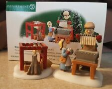 Dept 56 New England Village 1999 Making The Christmas Candles 56620 Retired 2002