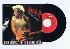 45 RPM SP PROMO BRUCE SPRINGSTEEN WAR (PRO 391)