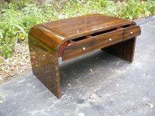 Perfect Makassar Ebony Art Deco Style desk.