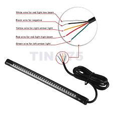 12V 48LED Motorcycle Tail Light Strip Brake Stop Turn Signal Lamp Bar SY8