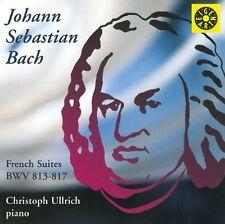 Christoph Ullrich - JS Bach French Suites BWV 813817 [CD]