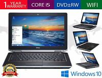 "Dell Latitude E6320 13"" Intel Core i5 2.50GHz 8GB RAM 128GB SSD WiFi DVDRW HDMI"