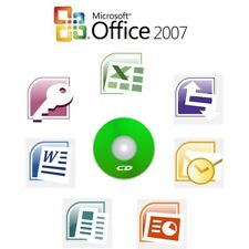 Microsoft Office 2007 Professional CD Full Version 10 PCs Word Excel PowerPoint