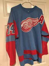 Vintage Detroit Red Wings Blue Starter Pro Medium Shanahan Jersey