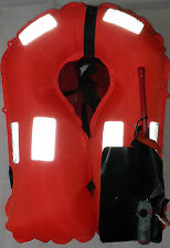 150N Automatic Manual Inflatable Auto Inflate Life Jacket L2