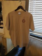 Nice XL Braun Electric Company Bakersfield California Tan T-Shirt