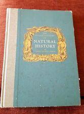 Golden Treasury of Natural History, 1952, Bertha Morris Parker, colorful illustr