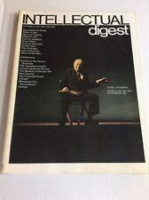 OCT 1972 Intellectual Digest- Science Magazine UNREAD Virgil Thomson