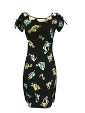 Moschino Couture statue dress body fitted dress. Size Italy 40 US 4