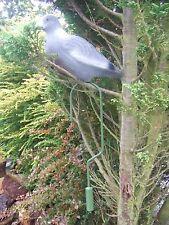 4 x LOFTER LOFTING HOOK & FULL BODY FLOCK COATED PIGEON DECOY tree loft decoys