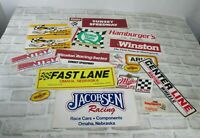 Vintage Lot of 21 Racing Decal Sticker Racing Car NASCAR Winston Levi Garrett