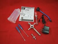 REDCAT NITRO STARTER KIT GLOW PLUG IGNITER + CHARGER  TOOLS + FUEL BOTTLE 80142A