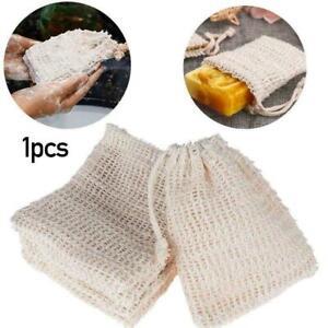 20PCS Sisal Soap Saver Bag Net Mesh Exfoliator Foaming Pouch L6C0 Eco-Fri R7L7