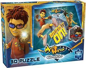 Matt Hatter Chronicles Bring It On! 500 Piece 3D Jigsaw Puzzle 3D Glasses *NEW*