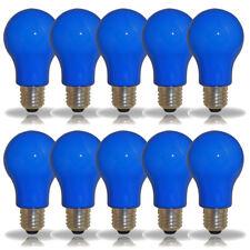 10 X LED souce d'éclairage forme de poire 3W = 25w E27 Bleu intérieur &