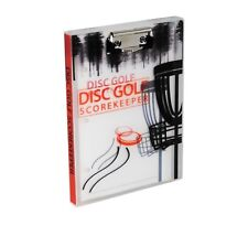 Compact Disc Golf Scorekeeper, 108 Games, with Mini Clipboard (Fits in Bag)