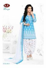 Unstitched Ramdan Eid Offer Shalwar Kameez Indian Pakistani Synthetic Bollywood