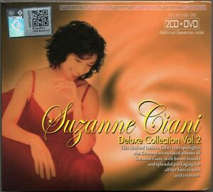SUZANNE CIANI Limited Deluxe Collection V2 SINGAPORE FOLD DIGIPAK 2CD + DVD SET