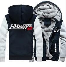 UFC Fighting Night Live Men Winter Thicken Hoodie Jacket Unisex Warm Hooded Coat