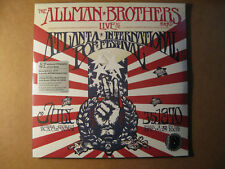 THE ALLMAN BROTHERS BAND - Live At Atlanta Pop Festival  Record Store Day 4 LP's