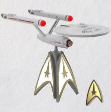"New ListingHallmark 2020 Star Trekâ""¢ U.S.S. Enterpriseâ""¢ Musical Tree Topper With Light Nib"