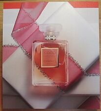 CHANEL COCO MADEMOISELLE PERFUME STORE DISPLAY PLASTIC SIGN RARE PARIS FRANCE