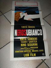 NERO SU BIANCO,TINTO BRASS,LOCANDINA