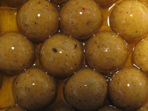 Garlic Boilies in Glug 20mm Carp Fishing Boile Baits In PVA Friendly Glug