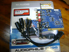 NOS IPC M-Audio Sound Card Audiophile 24/96 2496 PCI in box with Software