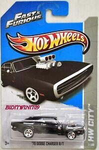 Hot Wheels 2013 Straße Power Fast & Furious '70 Dodge Ladegerät R/T