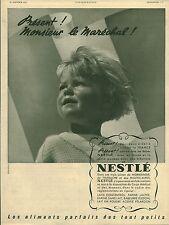 Publicité ancienne bébé NESTLE 1942
