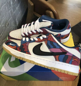 """Nike SB Dunk Low - Parra """"Abstract Art"""" Size 10.5 *IN HAND*"""