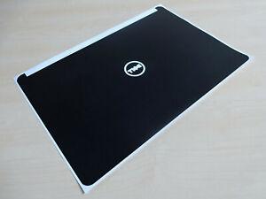 "Dell Latitude E7250 12.5"" Original Mat Black Laptop Lid Sticker Skin Decal Cover"