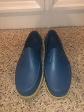 Native Shoes Howard Blue Boat Shoes In Size 9W/11M-NEW