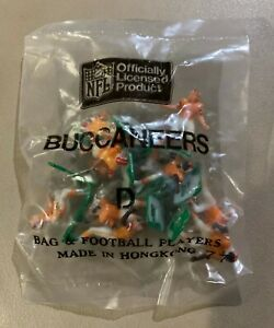 Tampa Bay Buccaneers HOME Tudor Electric Football Team Mint Sealed Bag LAST ONE!