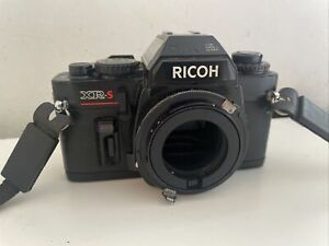 Ricoh XR-S Vintage SLR Camera Body Only, Untested