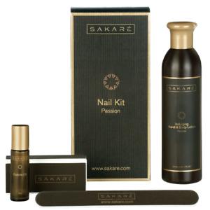 Sakare Nail Kit Passion Professional Home Manicure 4 Piece Set RRP. £45