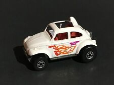 1983 Hot Wheels White Blazing Bug With Flames (HW43)