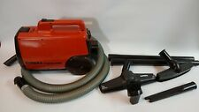 Vintage Eureka Mighty Mite 3120 Canister Vacuum With Accessories