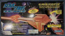 RARE 1995 PLAYMATES STAR TREK NEXT GENERATION KLINGON DISRUPTOR