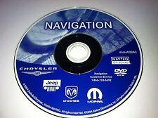 2004 2005 2006 Chrysler PT CRUISER 300 SRT8 JEEP NAVIGATION DVD  05064033AC OEM
