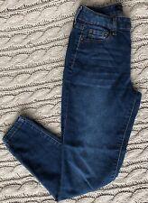 Women's Aeropostale High Waisted Jeggings Size 2 Short Dark Wash Skinny Jeans