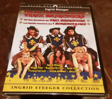 drei musketiere erotik klassiker ingred steeger dvd sammlung