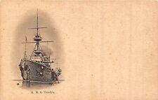 CARTOLINA NAVI HMS TERRIBLE