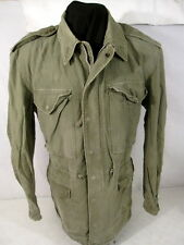 Korea War US Army M1950 M-1950 OG-107 Field Coat Jacket - Sz Small/Long #2