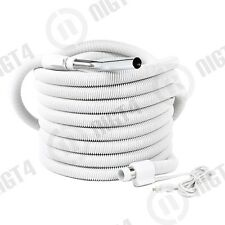 Special  Aspirateur Central Vacuum 35' ft Pigtail Crush-Proof Electric Hose NEW!